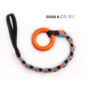 Jouet tug pour chien avec anneau caoutchouc